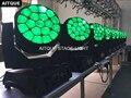 6 los DJ disco ausrüstung lichter biene auge 19x15 rgbw led strahl licht moving strahl beeled dmx moving kopf beleuchtung