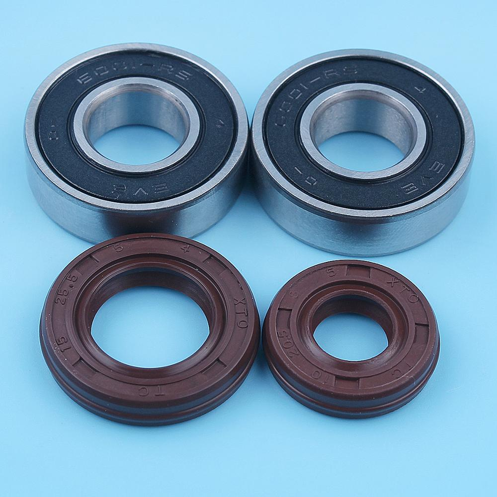 Crankshaft Ball Bearing Oil Seal Kit For Honda GX25 UMK425 GX25N HHT25S FG110 Brushcutter Trimmer Replacement Spare Parts