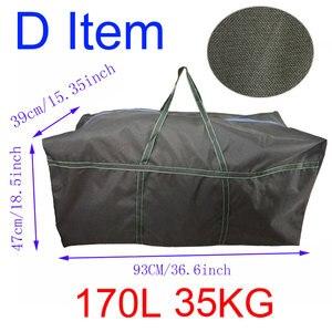 Image 4 - 대용량 카약 풍선 PVC 보트 스트랩 가방 물 스포츠 선체 운반 가방에 대 한 내구성 낚시 보트 스토리지 가방