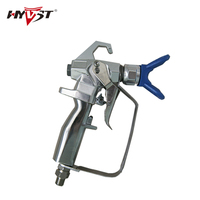 Contractor Spray Gun 2 Finger WPR 3600Psi 24 8MP Paint Hose Adaptor 1 4 NPS Or