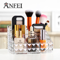 ANFEI New Diamond Pattern Cosmetic Box With High Quality Acrylic Material Touch Smooth Soft Makeup Organizer Cosmetic Organizer