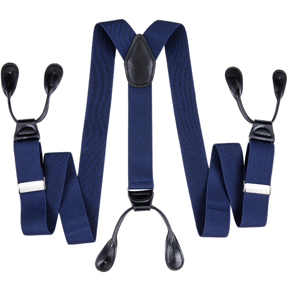 acquistare arte squisita scarpe da skate US $8.9 35% OFF|DiBanGu 6 Buttons Suspenders Man Braces Adjustable Elastic  Suspenders Bretelles Tirantes For Men Formal Wedding 3.5*125cm JZ 501-in ...