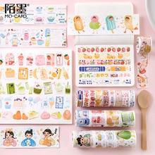 24PCS/LOT japanese Snack Shop series decoration paper masking tape washi tape