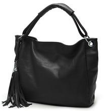 2015 neue wintermode marke 7-farben qualität pu-leder handtasche quaste große kupplung umhängetasche frauen messenger bags. zs0040