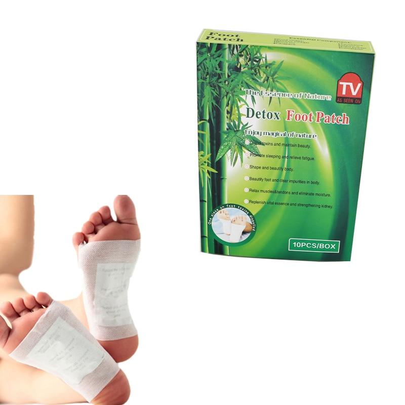 100 шт/10 коробок в партии) крем для отбеливания лица Очищение Расслабление стоп-накладка китайская бамбуковая уксусная детоксикационная пластырь для ног