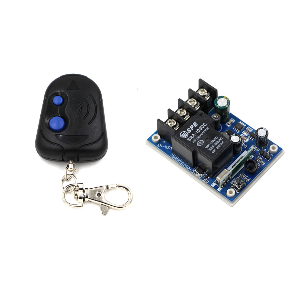 Ir Remote Control Extender Circuit Mark 5 Smart Home Wide Range Voltage Dc12v 24v 36v 48v Rf Wireless System Receiver Transmitter 2keys