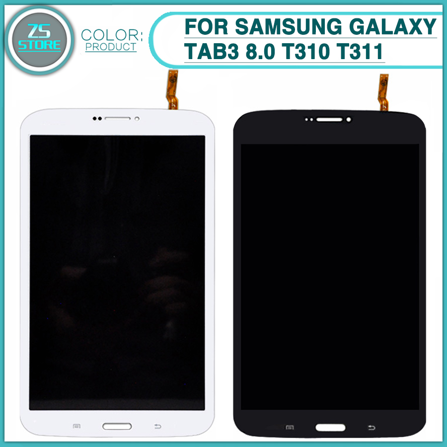 Nouveau lcd écran tactile Pour Samsung Galaxy Tab3 8.0 T310 T311 SM-T310 SM-T311 Assemblée de convertisseur analogique-Numérique D'écran tactile D'affichage D'affichage à cristaux liquides