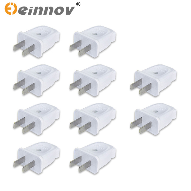 EINNOV Electrical Sockets Single phase Two pole Connector Plug Two ...