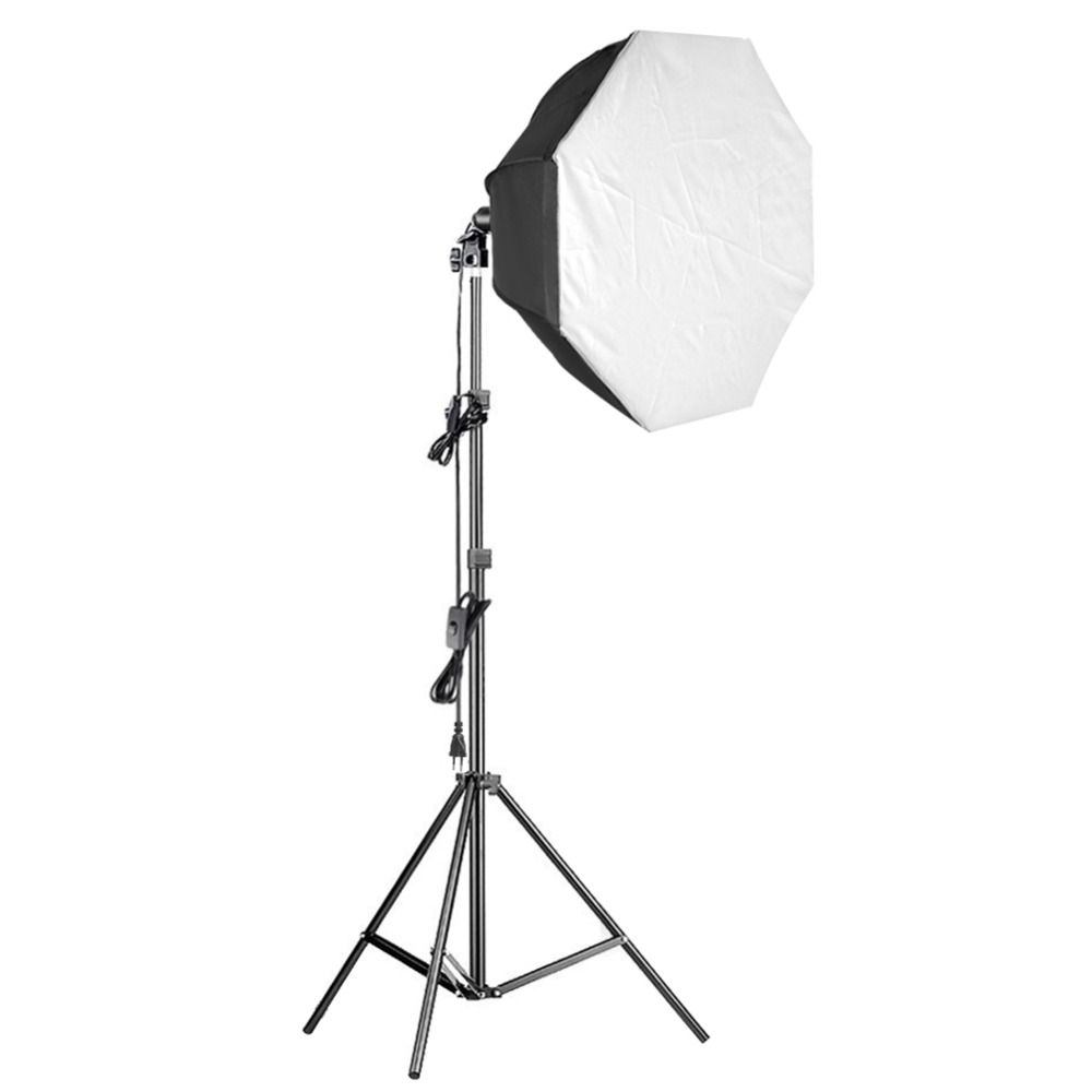 Neewer 31.5 inches Pro Octagon Video Studio Continuous Softbox Lighting Kit with Solid Stand/85W Bulb/E27 Socket/White DiffuserNeewer 31.5 inches Pro Octagon Video Studio Continuous Softbox Lighting Kit with Solid Stand/85W Bulb/E27 Socket/White Diffuser