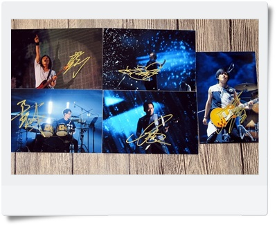 signed Mayday autographed original photo 6 inches free shipping 092017B