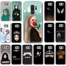 Muslim girl islamic eyes Hijab girl Hard phone case for