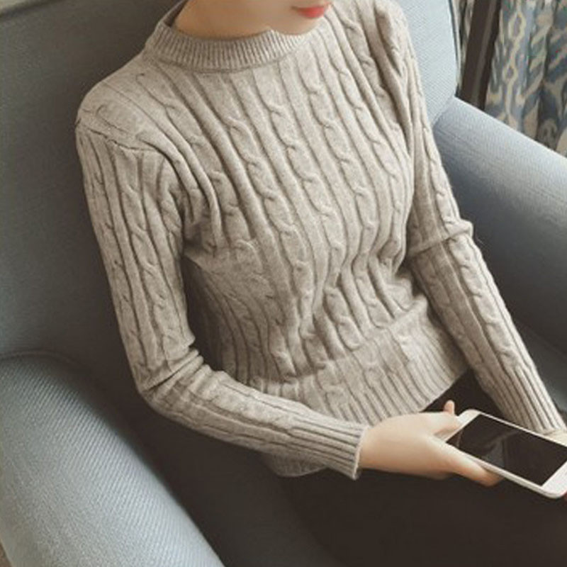 women-fashion-2015-autumn-sweaters-basic-casual-knitting-winter-Pullover-KB903