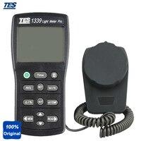 TES 1339 MEDIDOR de Medição Portátil Medidor de Luz Digital Lux Tester com Função De Retenção de Dados de Intensidade Luminosa|tester digital|tester meter|tester light -