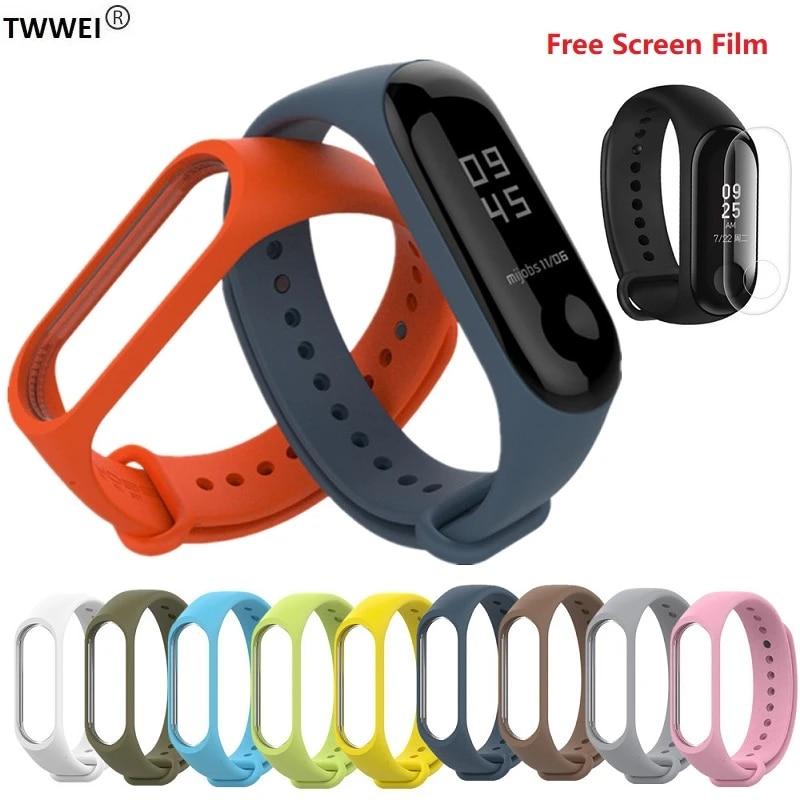 Correa Mi Band 3 Strap Bracelet For Xiaomi Mi Band 2 3 Strap Bracelet Miband 3 2 Silicone Wrist Strap Accessories Protector Smart Accessories Aliexpress