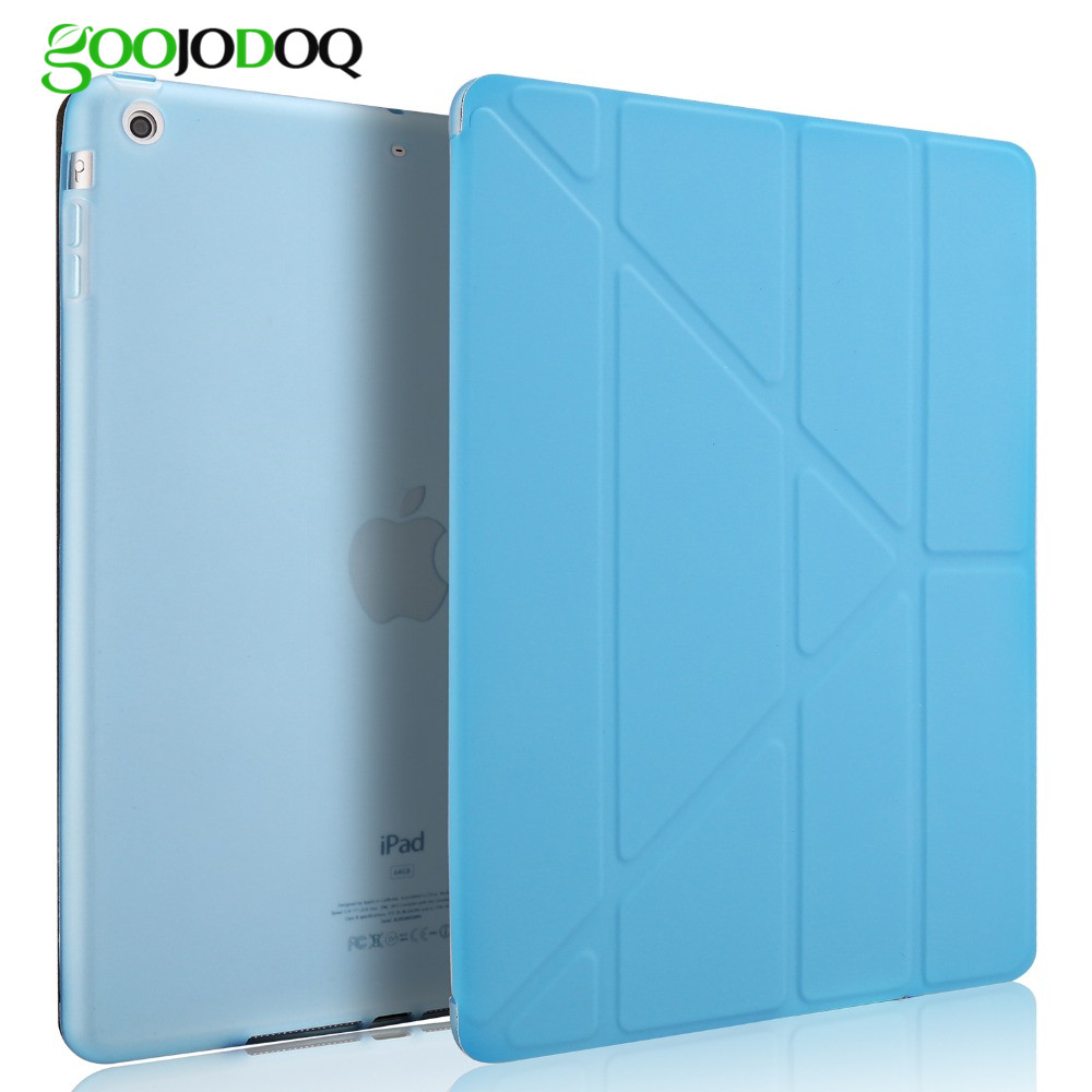 Smart Case For Apple iPad 2 3 4 New PU Leather Flip Stand TPU Soft Back Cover For Ipad Air 1 ( ipad 5 ) Auto Sleep /Wake A4244 zuandun flip smart case for ipad air 2 luxury leather stand silicon soft tpu back cover for ipad 6 tablet case auto wake sleep