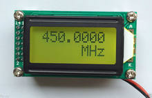 1 MHz ~ 1,1 GHz RF Frequenz Zähler Tester Digitale LED METER FÜR Ham Radio