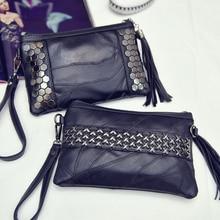 Candice Mode Niet Leder Kupplung Frauen Rock Crossboday Casual Messenger Weiblichen Neue Marke Handtaschen Umschlag Tasche