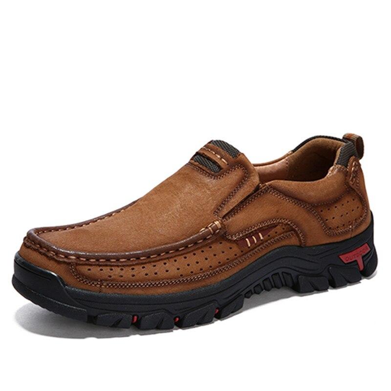 Slip on brown