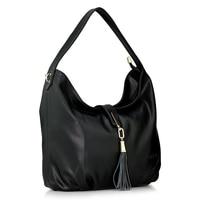2015 New Women Messenger Bags Fashion Genuine Leather Handbag Tassel Shoulder Bag Crossbody Bolsas Women Leather