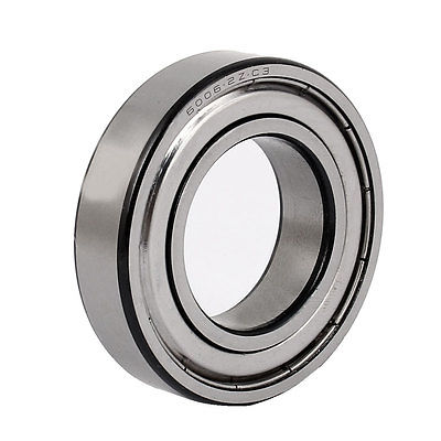 ZZ6006 55mm x 30mm x 13mm Pressed Steel Cage Sealed Deep Groove Ball Bearing gcr15 6326 zz or 6326 2rs 130x280x58mm high precision deep groove ball bearings abec 1 p0