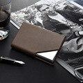 Stainless Steel Bank Card Case Business Rfid Blocking Metal Travel Card Wallet Metal Designer Card Holder
