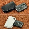(Черный/Белый) Дизайн одежды Кожаный Чехол Ключа Автомобиля Для Lexus брелок Для Lexus IS250, ES240GS, GS, LS, RX270 и LX Smart Key