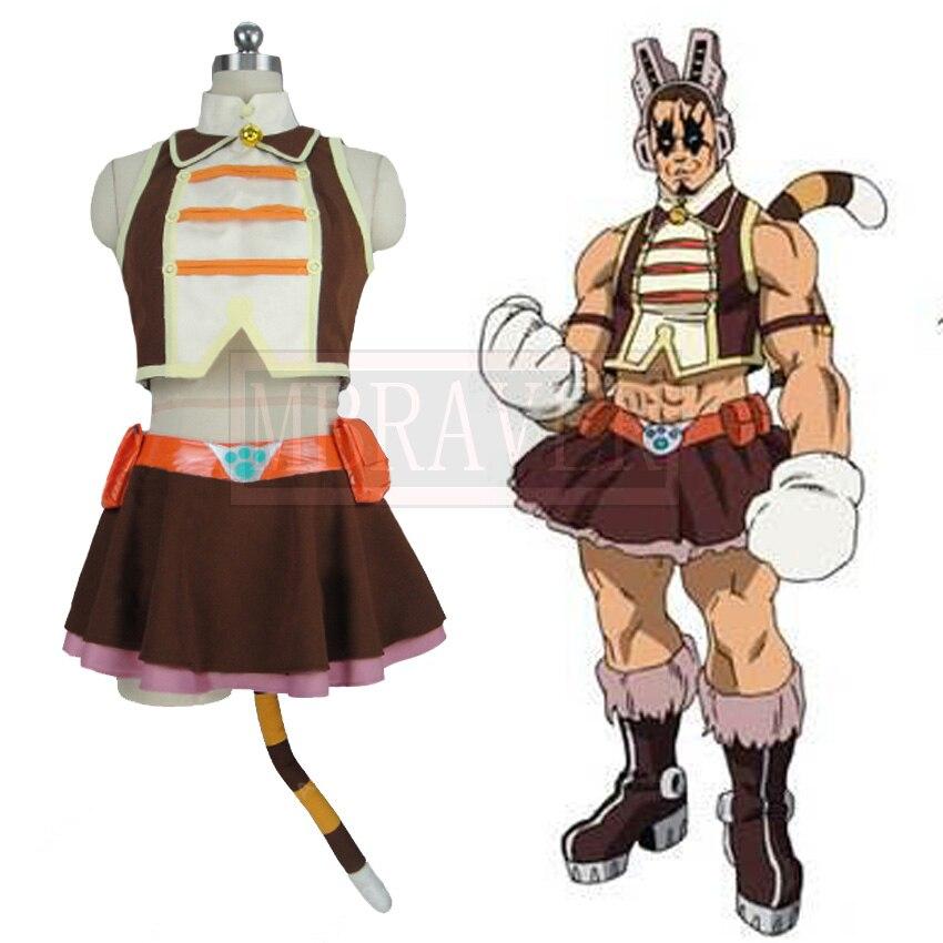 Мой герой academic Boku no Hero Akademia Pussycats киска кошка тигр косплей костюм на заказ любой размер