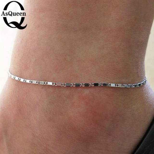 Fine Sexy Anklet Ankle Bracelet Cheville Barefoot Sandals Foot Jewelry Leg Chain On Foot Pulsera Tobillo For Women Halhal 1