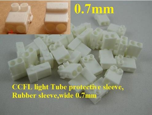 CCFL Light Tube Protective Sleeve,Rubber Sleeve,for Frame Wide 7mm,15set=30 Pieces/lot