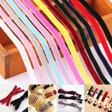 JILV 3/8 10 Yards 100% New Polyester Velvet Ribbon DIY Webbing 27 Color Garment Bag Home Textile Sewing Accessories