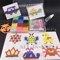 15 цвета Воды beadbond perler бисер детские развивающие игрушки DIY Бисером Магии головоломки Упакованные волшебный воды бой Горох