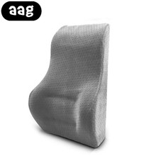 AAG Auto Car Lumbar Back Support Cushion Pillow Breathable Memory Foam Car Office Home Chair Styling Seat Support Waist Cushion
