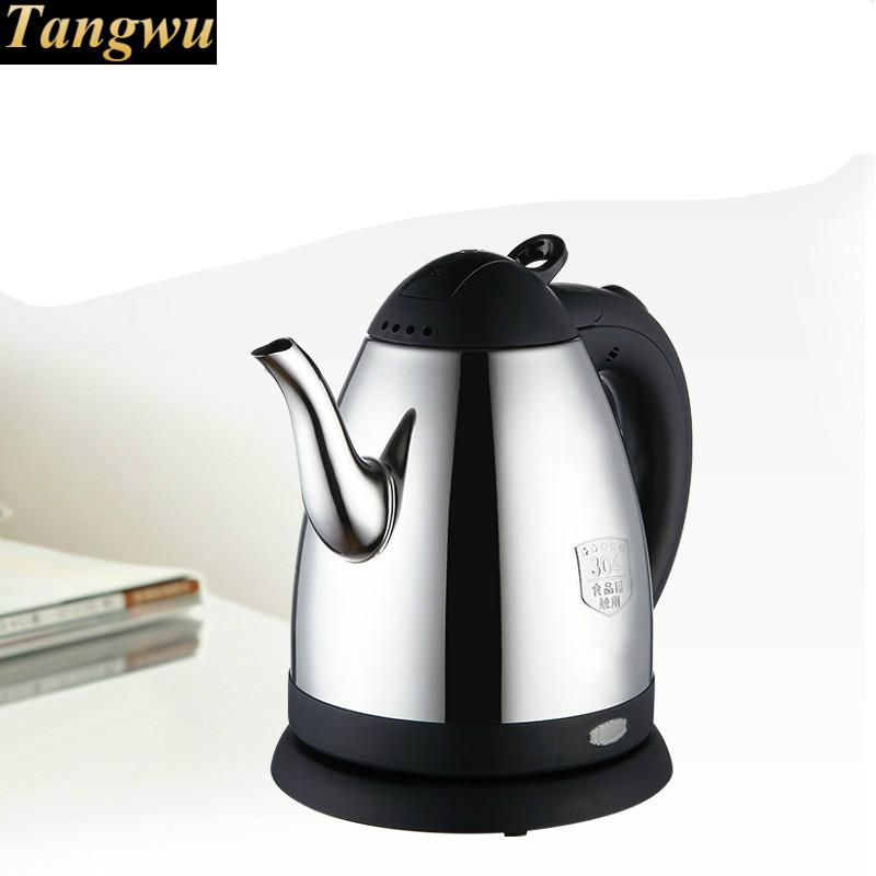 food grade 304 stainless steel electric kettle fired automatically Anti-dry Protectionfood grade 304 stainless steel electric kettle fired automatically Anti-dry Protection