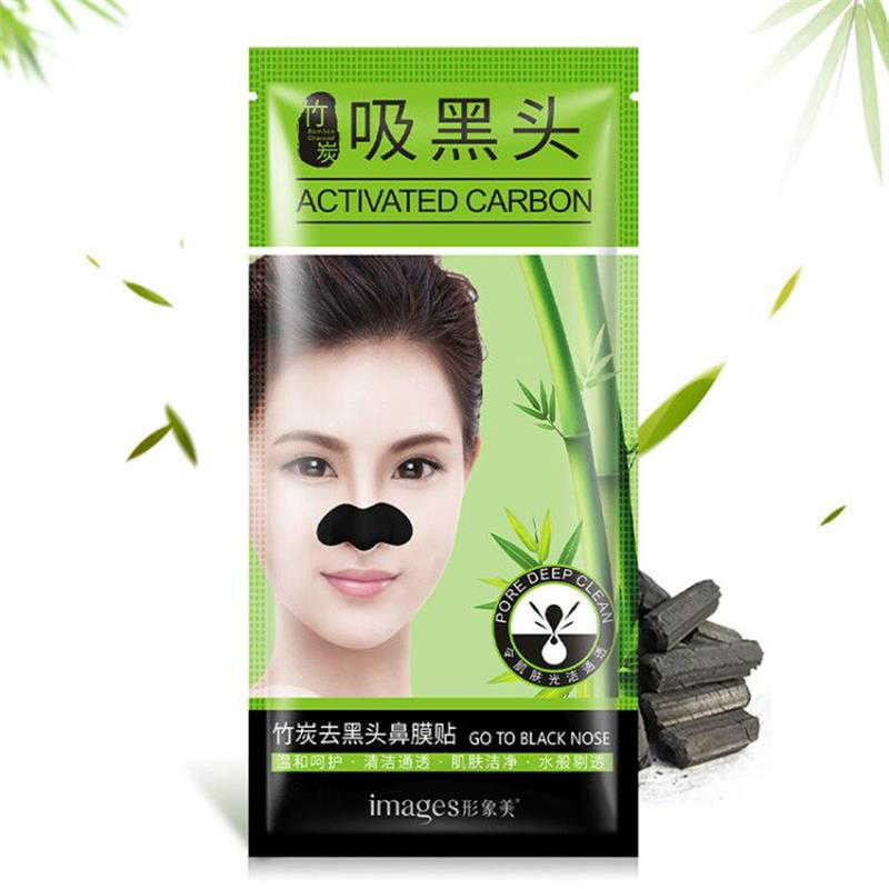 IMAGES Face Care Bamboo charcoal Nose Mask