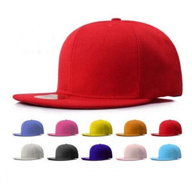 Adult Men&Women Summer Spring Canvas Baseball Caps Snapback Flat Brim Blank Hip Hop Cap,Boy&Girl Teenager Street Dance Hats