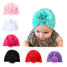 2019 Four Seasons New Baby Products Girls Hats Hollow flowers Knotted Bohemian Industry Wind indian Hat
