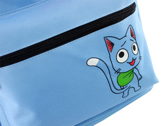 Japan Anime Fairy Tail Backpack School Bags for Teenagers Girls Cartoon Travel Canvas Bag Mochila Laptop Backpacks Rucksack