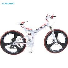 Altruism X6 21 Speed Folding Bicycle Mountain Bike Bicicleta 26 Steel Bicycles Bicicletas Mens Mountain Bikes Taga Bike Stroller