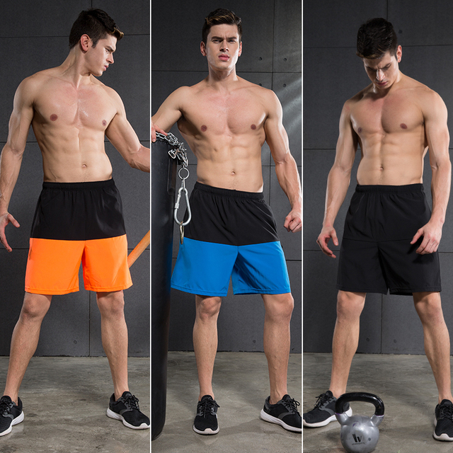 Running Basketball Knee-length Fitness Shorts Quick-Drying Breathable