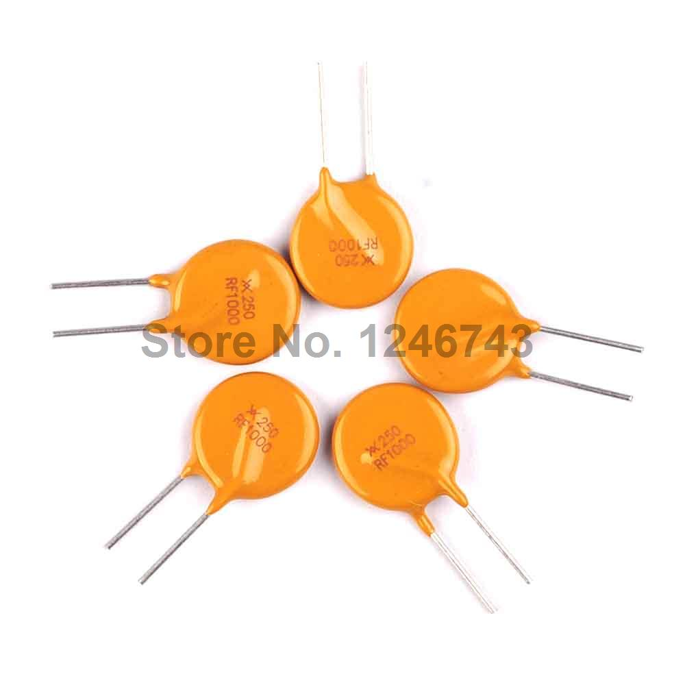 Pptc Resettable Fuse Trf250 1000 250v 1a 1000ma Self Recovery 50pcs 2pins Printed Circuit Board Connector Block Screw Terminals Us Fuses 50 Pcs Lot