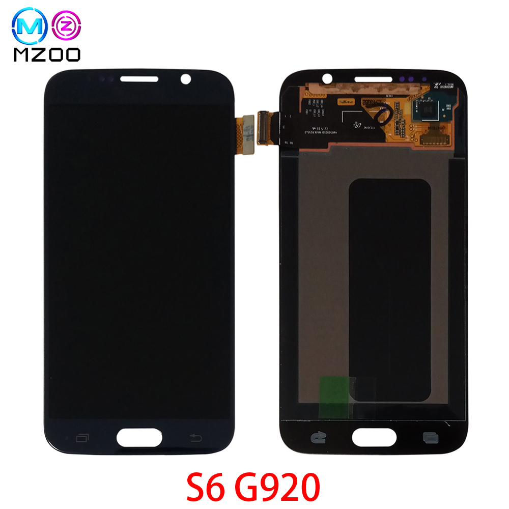 5.1 Super Amoled LCD Screen For Samsung S6 G920 G920A G920F LCD Display With Frame LCD Screen Digitizer Assembly Replace Parts5.1 Super Amoled LCD Screen For Samsung S6 G920 G920A G920F LCD Display With Frame LCD Screen Digitizer Assembly Replace Parts