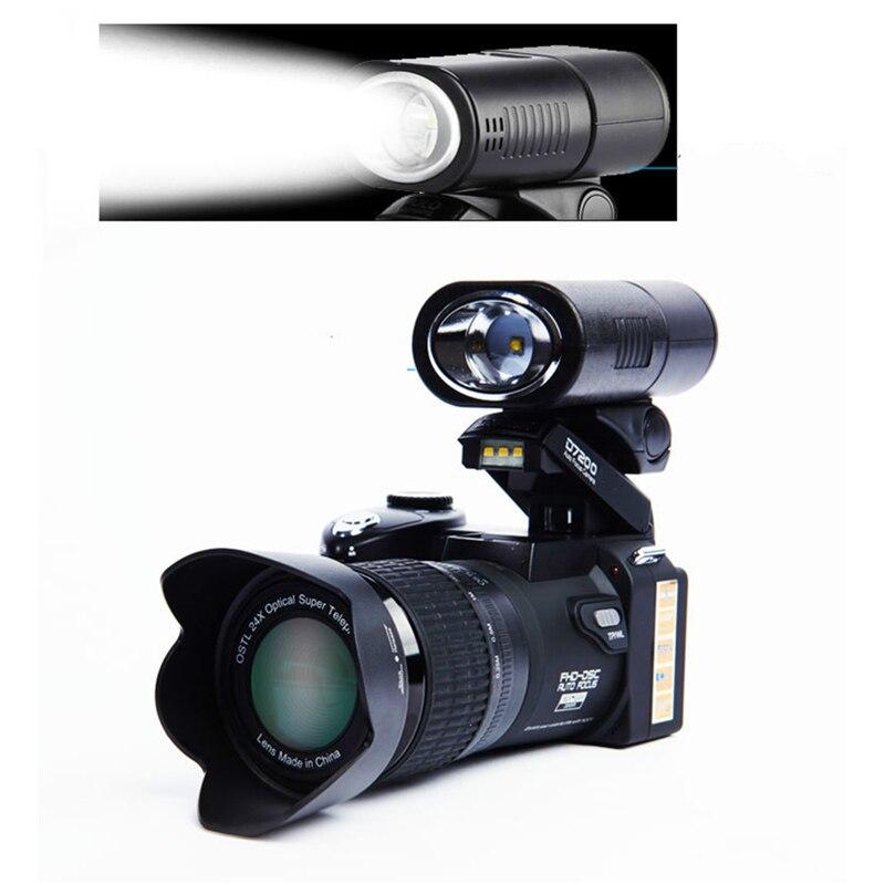 2018 HD JOZQA POLO D7300 appareil photo numérique 33 millions de pixels Auto Focus professionnel appareil photo vidéo reflex 24X Zoom optique 3 objectif HD - 4