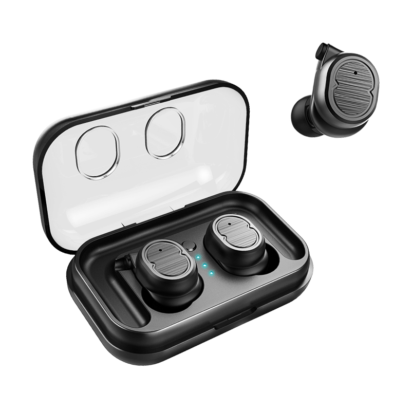 TWS Bluetooth 5.0 Headphones Wireless Earphones Sports Earbuds Stereo Bass Headset With Dual Microphone For Phones
