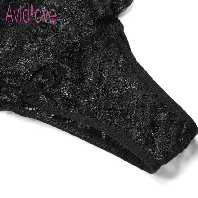 Avidlove New Lady Lingerie Sexy Hot Erotic Teddy Bodysuit Women Lace Spaghetti Strap Chemise Underwear Langeri Porn Sex Costumes 6