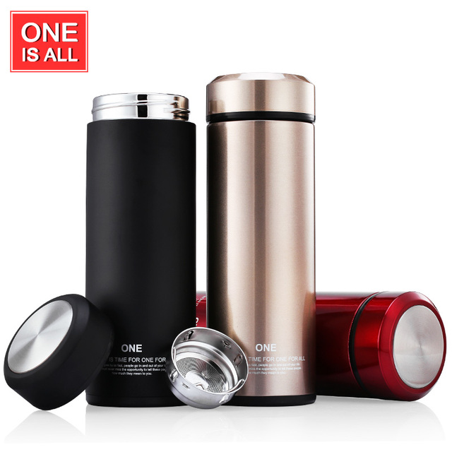 creative thermos cup glass liner thermos mug garrafa termica coffee cup stainless steel vacuum flask mug - Glass Thermos