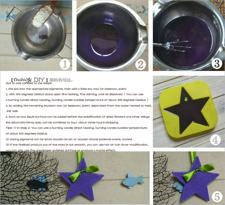 Candle Dye Paints for Candle Wax Oil Colour Coloring Dye DIY Candle ...