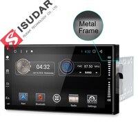 2 два DIN 7 дюймов Android 7.1.1 Универсальный dvd-плеер автомобиля для Nissan/Toyota/Corrola/Volkswagen Wi-Fi GPS навигации Bluetooth Радио