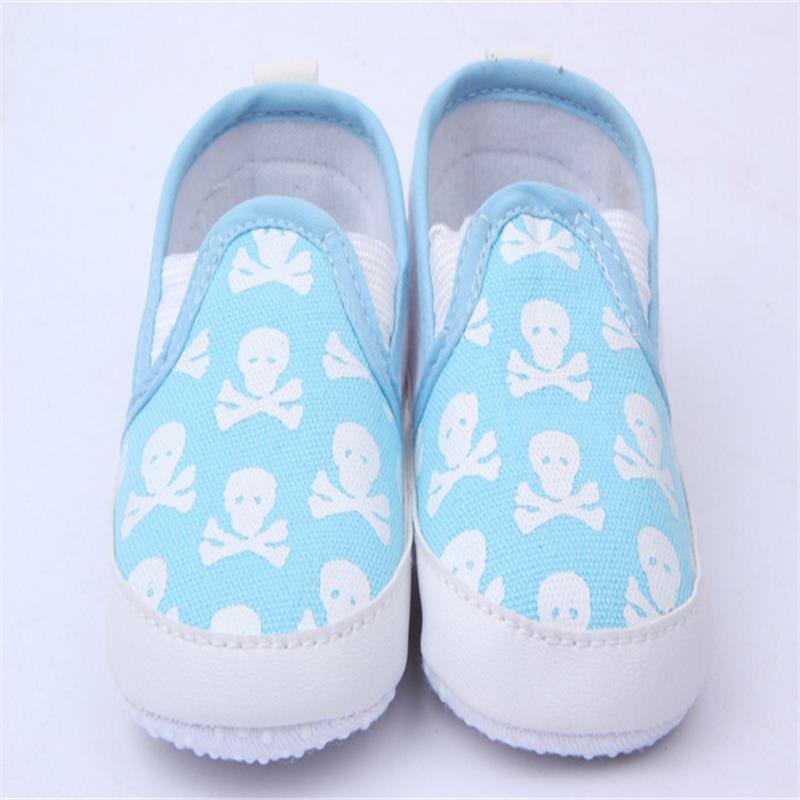 Kinder Schuhe Kleinkind Baby Jungen Mädchen Schädel Tier Gedruckt Weichen Boden Schuhe Pre Walker