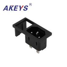 3PCS AC-03A AC-212 DB appliance socket Female AC power switch