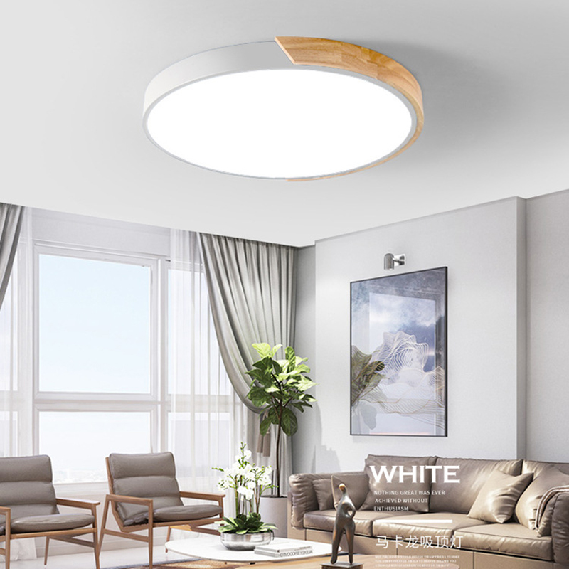 Enthusiastic Ultrathin Led Ceiling Light Modern Panel Lamp Lighting Fixture Living Room Bedroom Kitchen Surface Mount Flush Remote Control Ceiling Lights & Fans